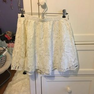 Abercrombie Lace skirt
